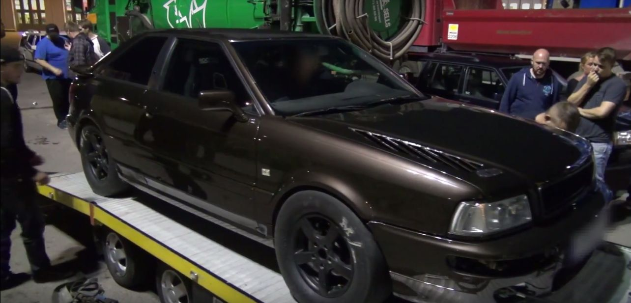 HP Audi S Ignores Swedish Police Grabs Street Racing Valhalla - Audi s2
