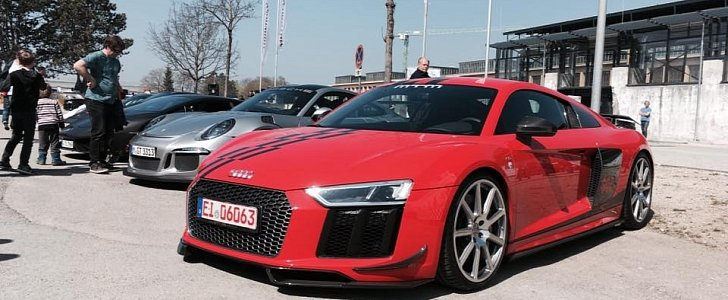 802 Hp Audi R8 By Mtm Makes Supercharged V10 Noises