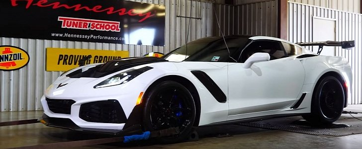 850 hp corvette zr1 hits the dyno  sounds like a blast