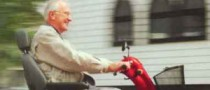 90-Year-Old Guy Rides Scooter on Motorway... by Mistake
