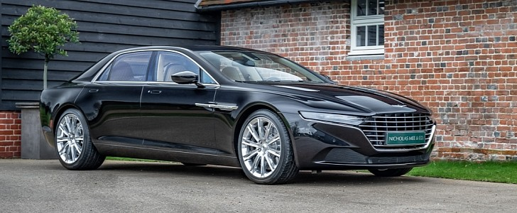 93 Mile 2016 Aston Martin Lagonda Taraf Up For Grabs In Uk Is Actually Lhd Autoevolution
