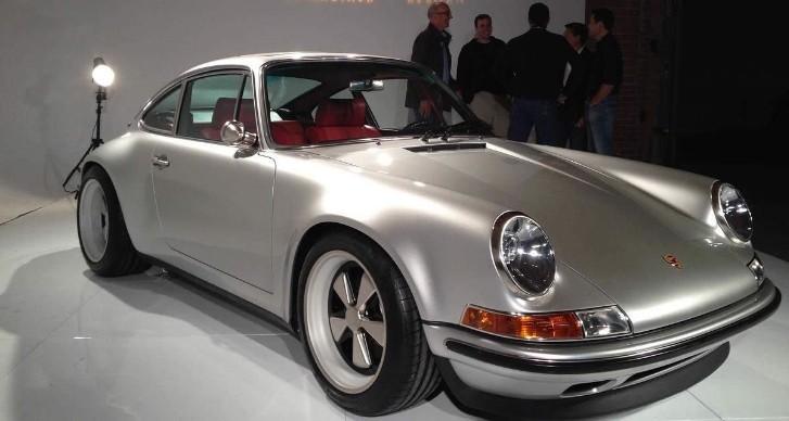 964 porsche 911 updated by singer vehicle design autoevolution. Black Bedroom Furniture Sets. Home Design Ideas