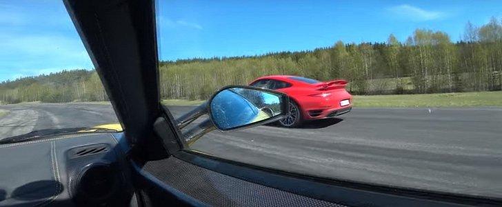 991 Porsche 911 Turbo S Vs Ferrari 430 Scuderia Drag Race