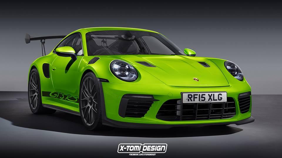 992 Porsche 911 Gt3 Rs Rendering Looks Spot On Autoevolution
