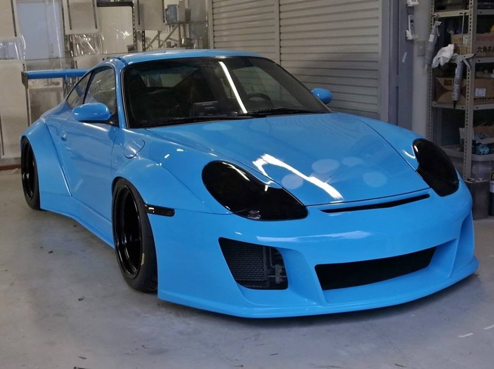 996 Porsche 911 Widebody: What If RWB Started Building Water