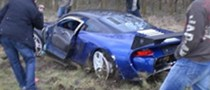 9ff GT9-R Totalled in the UK