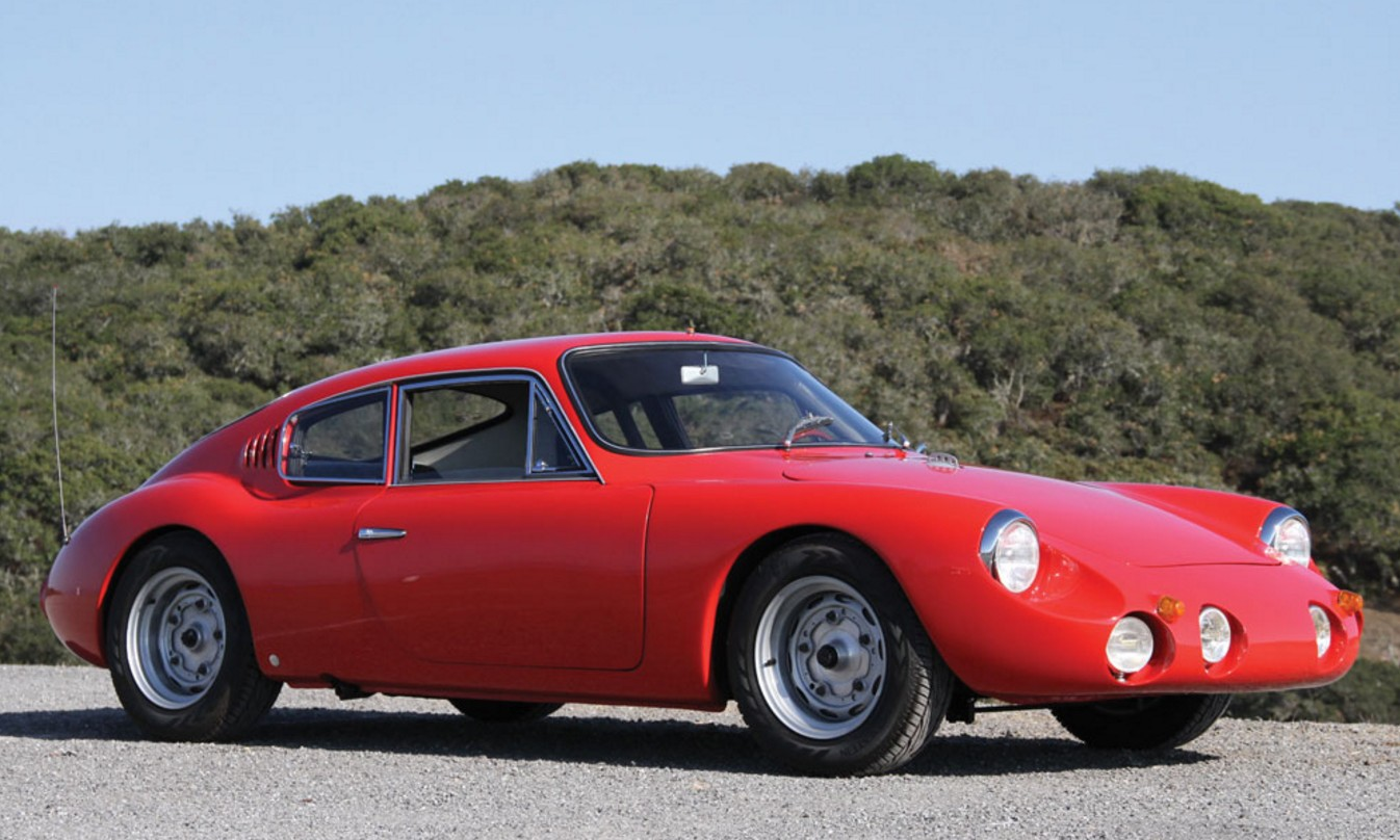 Rare 1962 APAL - Porsche 1600 GT Coupe Will Be Auctioned by