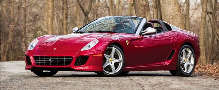 A 2011 Ferrari 599 Sa Aperta Is Going Under The Hammer At Rm Sotheby S Sale Autoevolution