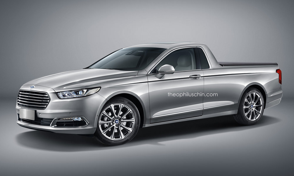 A 2016 Ford Taurus Transformed Into a Pickup Truck is Not ...
