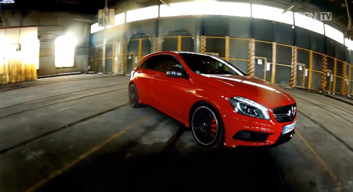 A 45 AMG Gets Tested by OptionAuto [Video]