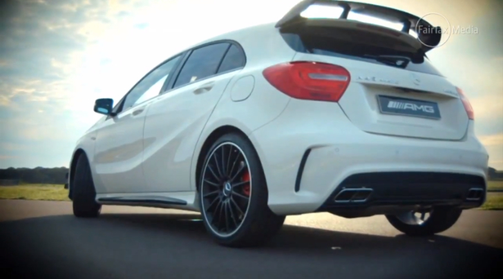 A 45 AMG Gets Tested by Drive Australia [Video]