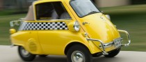 A BMW Isetta Is the World's Smallest Taxi