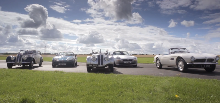 A Brief Lesson of BMW History: The BMW Roadsters [Video]