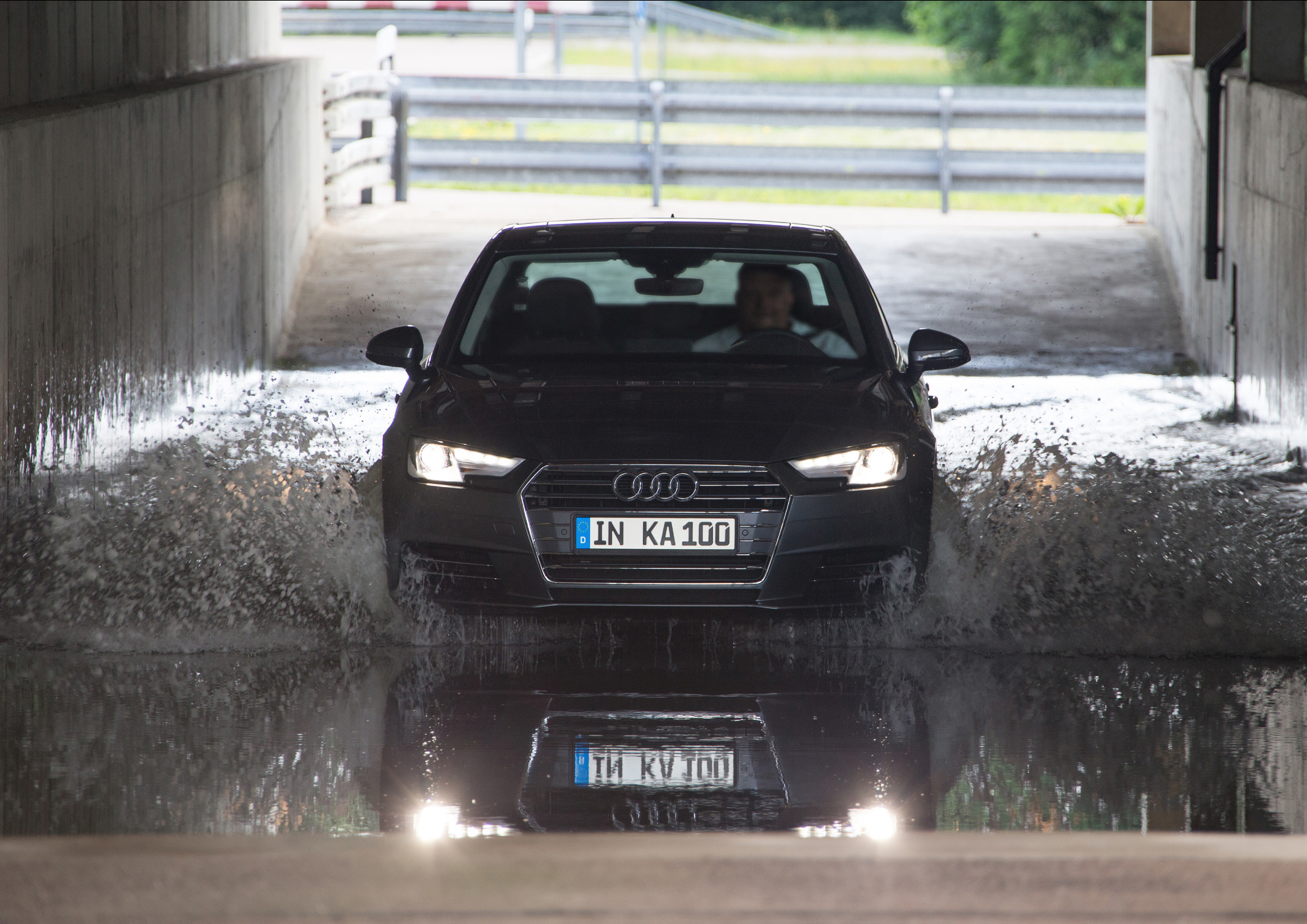 Audi Has Successfully Completed Its 100th Quot Inka Quot Quality Assurance Test Autoevolution