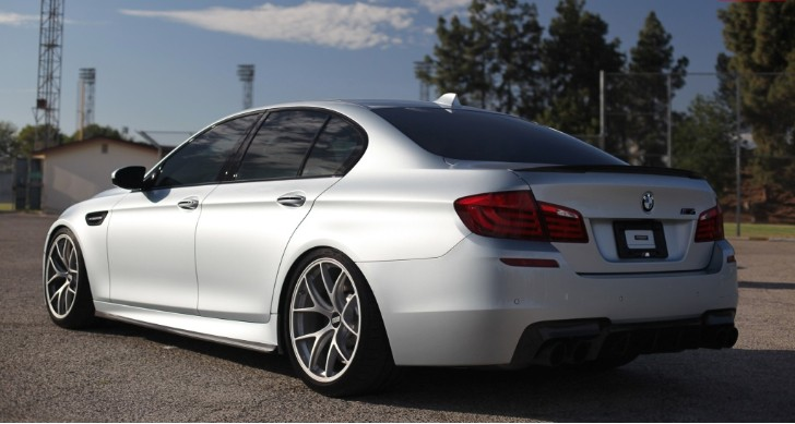 A Detailed Look at a Dropped BMW F10 M5 [Photo Gallery]