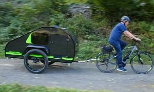 A Different Kind of Teardrop Camper: The ModyPlast Trailer for e-Bikes