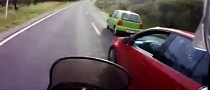 A Golf Driver Too Stupid to Check Mirrors [Video]