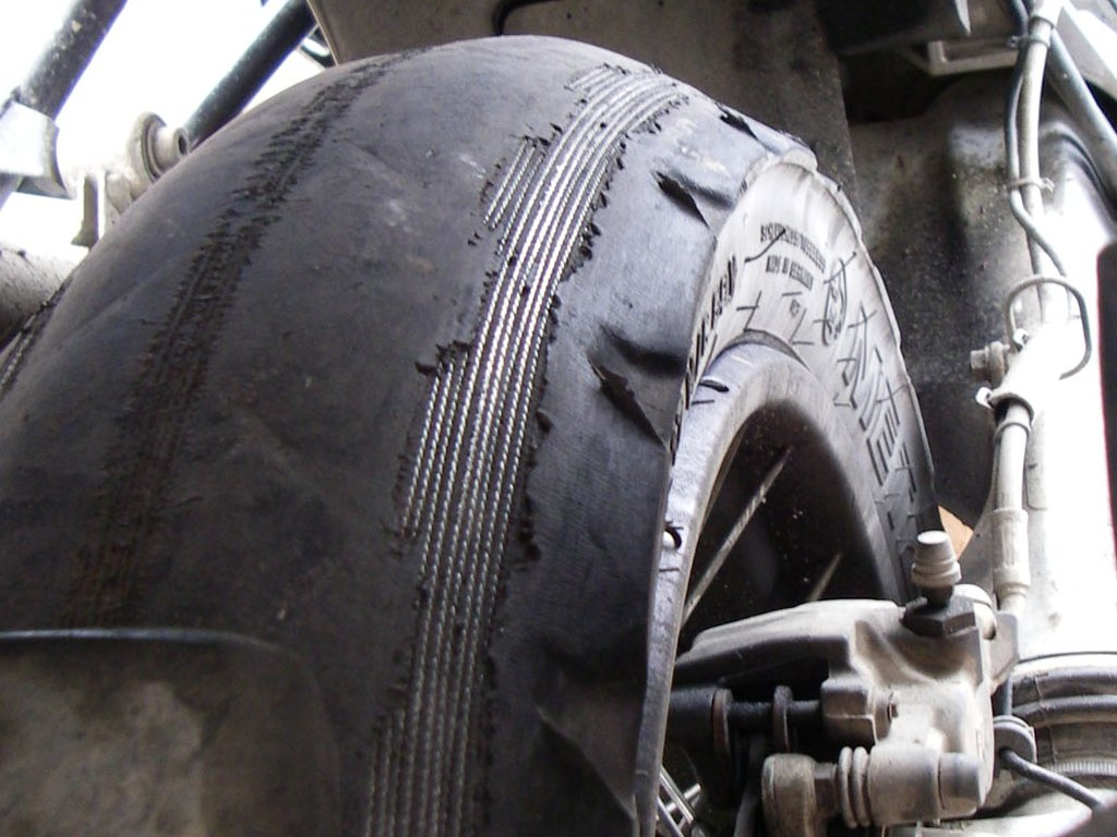 Part Worn Motorcycle Race Tyres