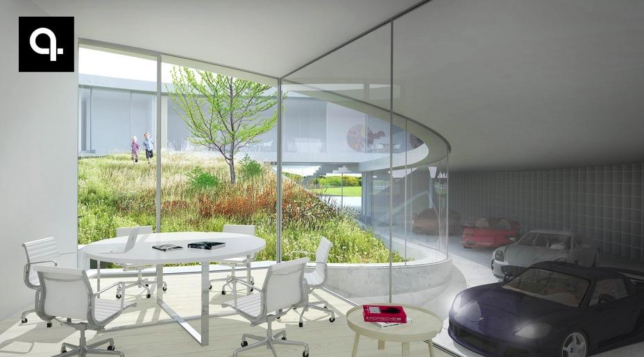 A Half House Half Car Showroom Is Under Construction Autoevolution