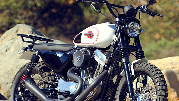 A Harley-Davidson Sportster Scrambler? Yes, please!