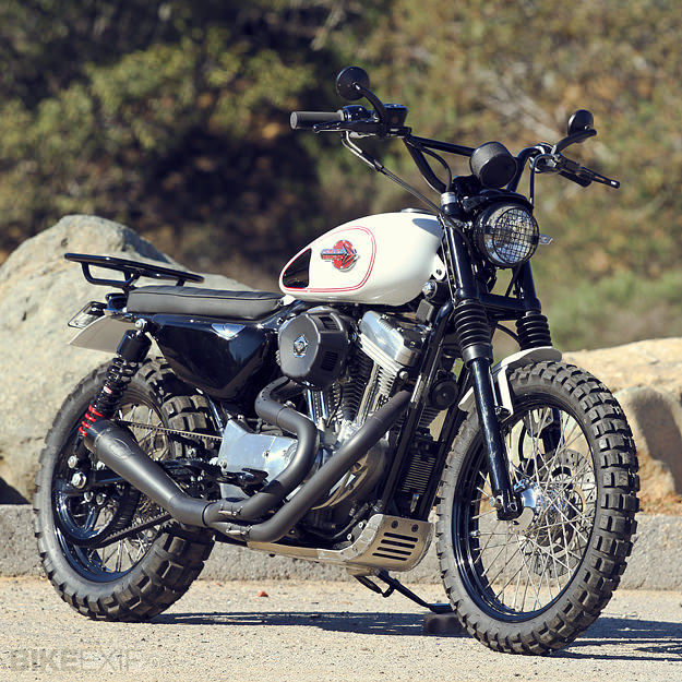A Harley Davidson Sportster Scrambler Yes Please