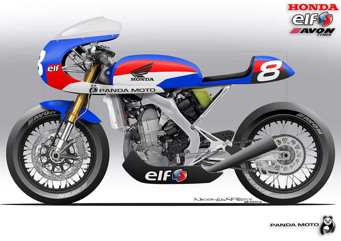 A Honda CRF450 Cafe Racer Sure We Have One