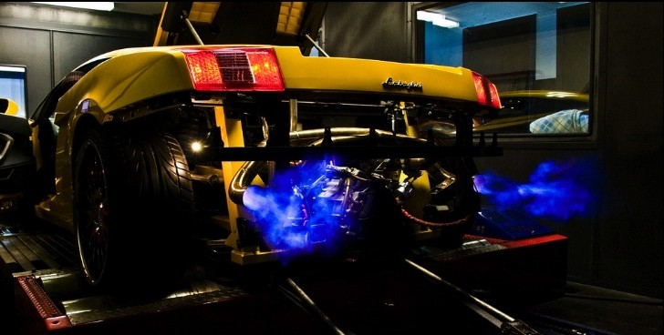 A Lamborghini with a Flaming Exhaust Never Gets Old