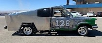 A Lemon Cybertruck Replica Exists and It Raced at 24 Hours of LeMons