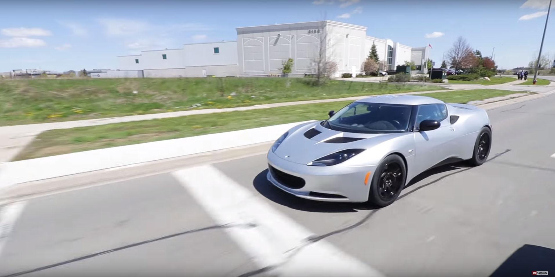 Tesla roadster lotus elise