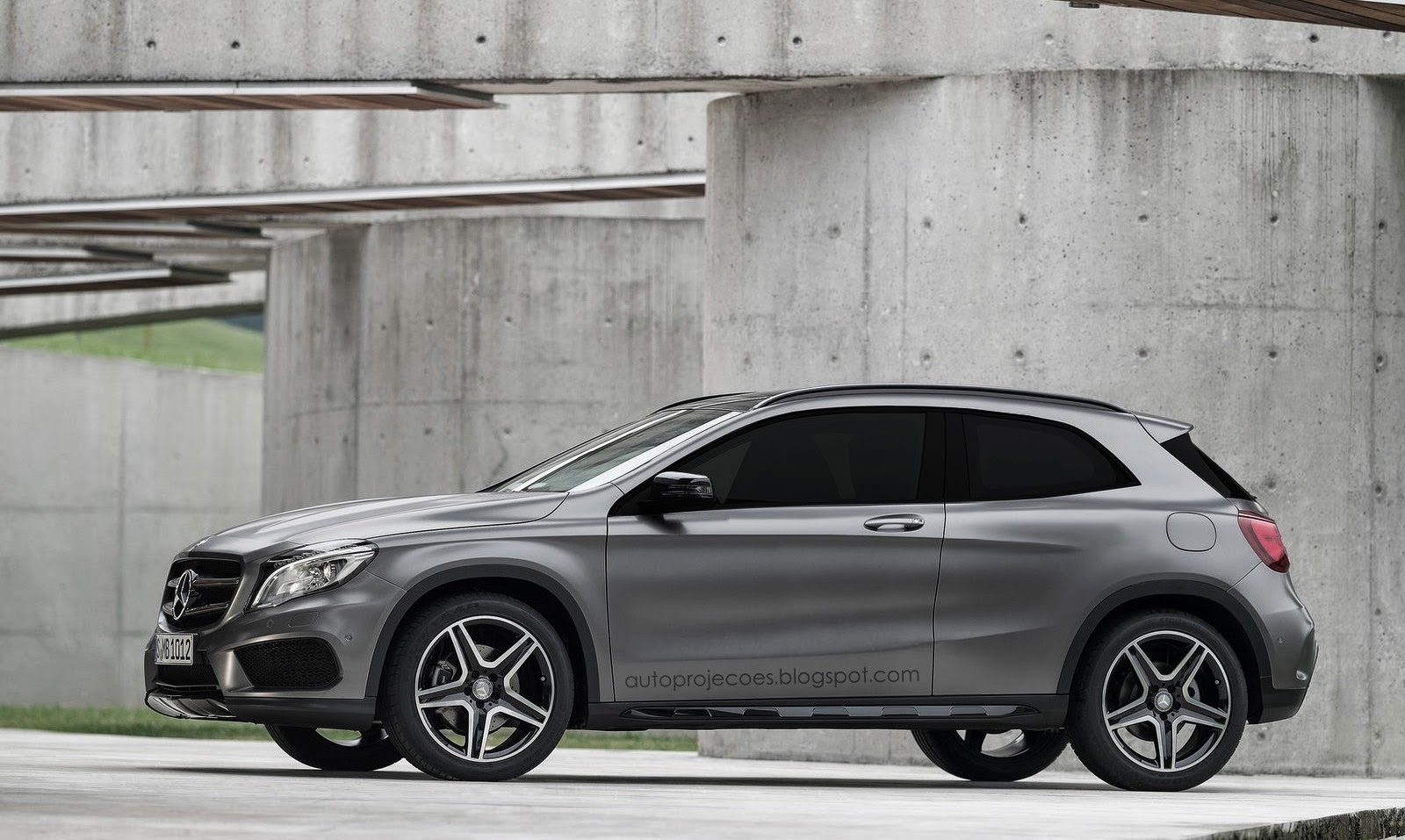 A mercedes benz gla coupe wouldn 39 t look out of place for Mercedes benz t