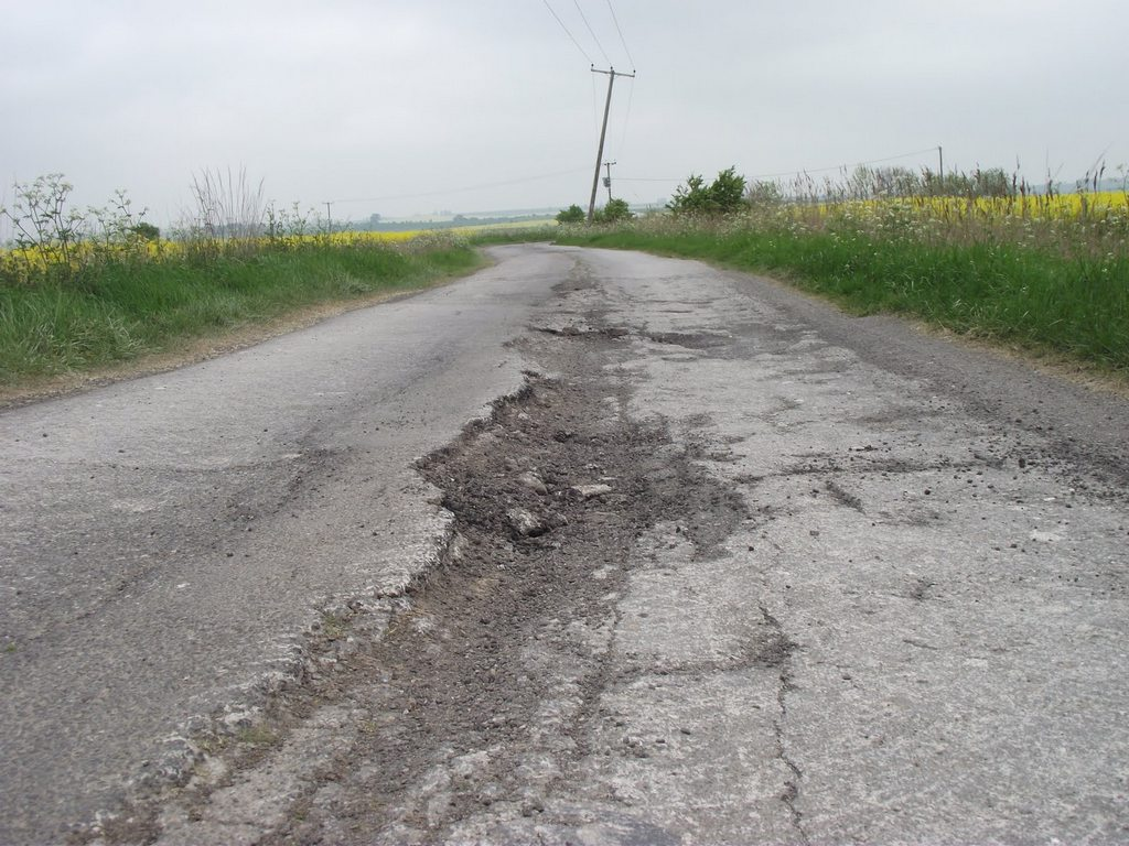 poor road condition Yokoo, toshi, marasteanu, mihai, and levinson, david (2016) does poor road condition increase crashes (working paper)in a region well known for its severe weather, maintaining pavements to meet high standards remains a challenge.