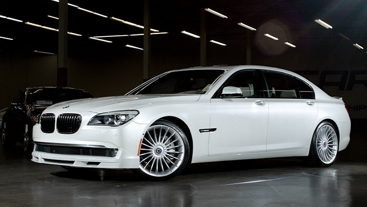 A Rare Find Alpina B7 In Mineral White Metallic Exterior