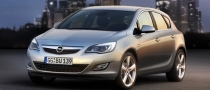 A red dot for the 2010 Opel Astra