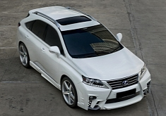 A Serious Lexus RX Rides on Vossen Wheels