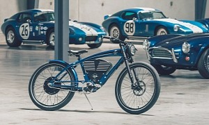 A Shelby Cobra Tribute on Two Wheels - Not a Motorcycle, But an Electric Bicycle