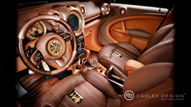 A Truly One of a Kind MINI : The Steampunk Countryman [Photo Gallery]
