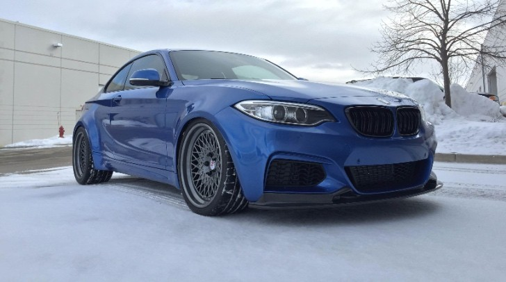 A Truly Special BMW M235i Project: Blue Ice - autoevolution