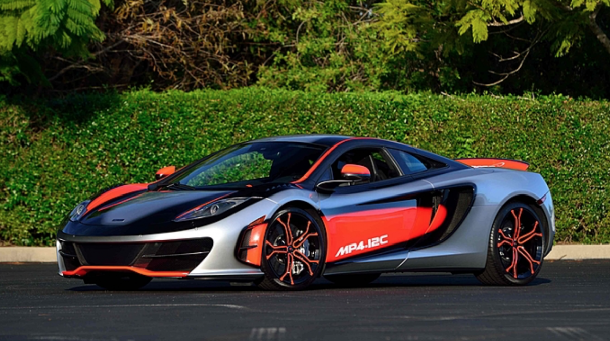 unique mclaren mp4-12c is now for sale - autoevolution