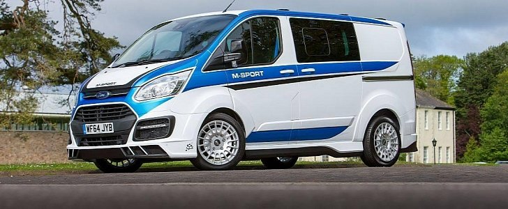 2016 Ford Transit >> A WRC-flavored Ford Transit Van Looks as Mental as You Think it Does - autoevolution