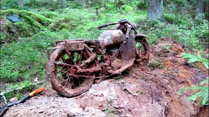 A WWII Treasure Buried in the Forest [Photo Gallery]