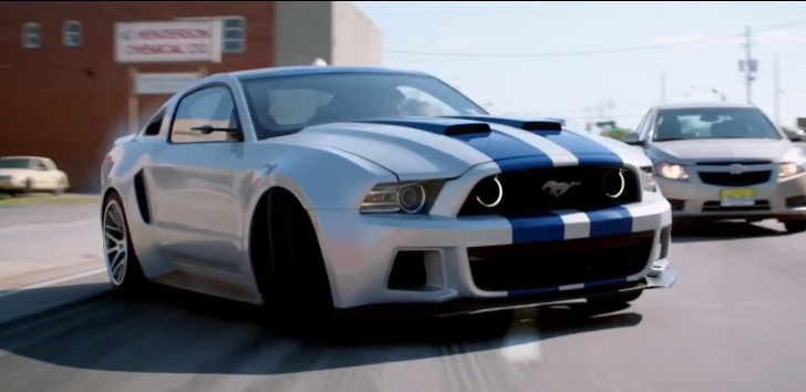 Aaron Paul Hugely Impressed By Need For Speed Mustang