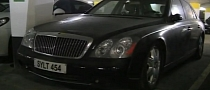 Abandoned Maybach 57 Gathers Dust in Monaco [Video]