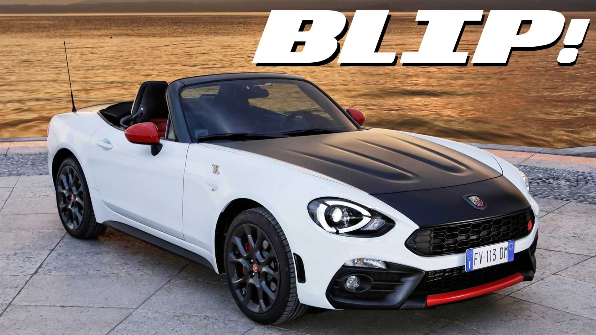 Abarth 124 Spider Priced from £29,565 in Britain, Listen to It Growl