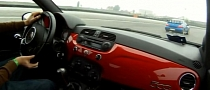 Abarth 500 VS Impreza WRX STI on Track [Video]