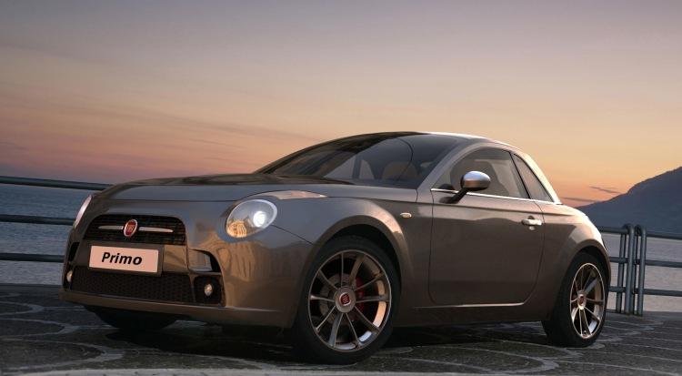 Abarth Sports Car Sketch Revelealed - autoevolution