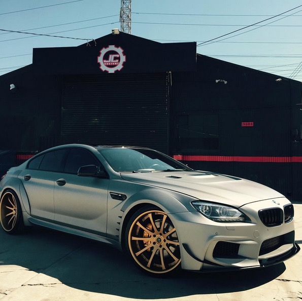 Abner Mares Martinez's BMW 6 Series Gran Coupe Goes Beast