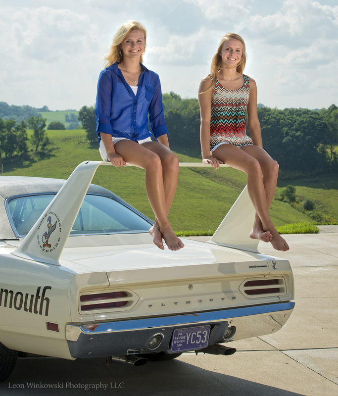 About putting girls on the wing of a plymouth superbird autoevolution