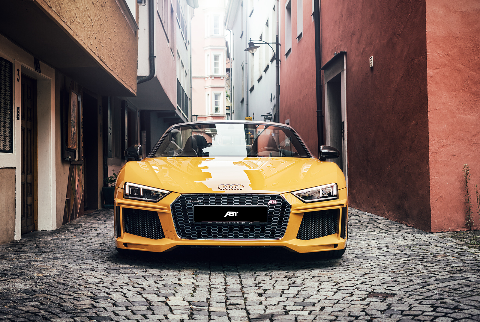 Abt Audi R8 Looks Stunning As Spyder Goes From 540 To 610 Hp