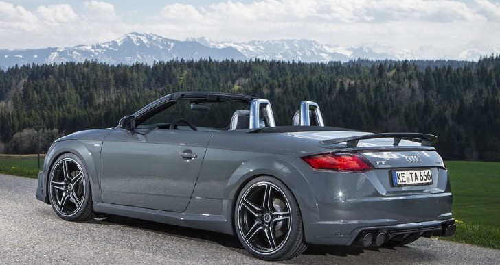 Abt Audi Tt Roadster Has 310 Ps And A Wing Autoevolution