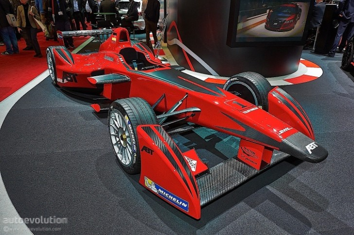 ABT Brings Formula E Car to Geneva [Live Photos ...